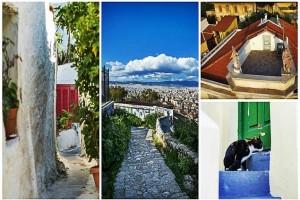 Μια... χώρα των Κυκλάδων στην καρδιά της Αθήνας: Η πιο όμορφη γειτονιά της πρωτεύουσας από ψηλά! (video & photos)