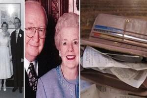 Όταν η σύζυγός του πέθανε, κοίταξε στο πορτοφόλι της και ανακάλυψε ένα σημείωμα που του είχε κρατήσει μυστικό όσο ζούσε!