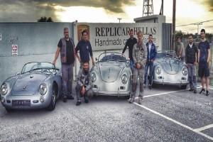 Χειροποίητα αυτοκίνητα με γαλανόλευκη «σφραγίδα»: Οι Πόρσε α λα ελληνικά από την Κατερίνη (Photos)