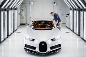 Μαγεία: Στα άδυτα της παραγωγής του μυθικού Bugatti Chiron (photos+video)