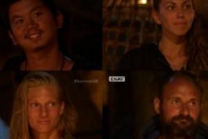 Αυτό κι αν είναι ανατροπή στο Survivor! Όλοι νομίζουν ότι θα αποχωρήσει ο Τσανγκ, αλλά τελικά έφυγε…!
