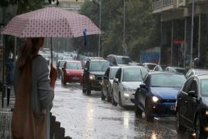 Πάρτε ομπρέλες: Χαλάει ο καιρός, με ισχυρές βροχές!