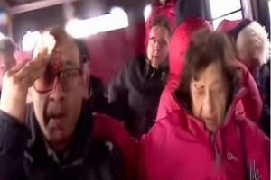 Τρόμος, ουρλιαχτά και ματωμένα πρόσωπα: Σοκαριστικό βίντεο από το ηφαίστειο της Αίτνας! (video)