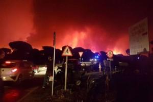Πύρινη λαίλαπα καταστρέφει και την Ισπανία! 2000 άνθρωποι εκκενώνουν τα σπίτια τους και ξενοδοχεία! (videos+photos)