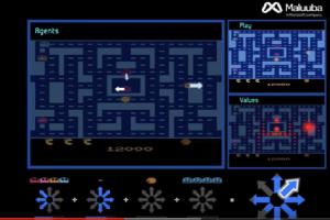 Τεχνητή νοημοσύνη της Microsoft έπαιξε απίστευτη παρτίδα του παιχνιδιού Ms Pac-Man (video)