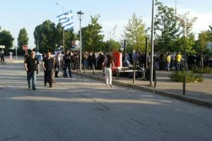 Θεσσαλονίκη: Σε εξέλιξη συγκεντρώσεις Χρυσαυγιτών - Aντιεξουσιαστών