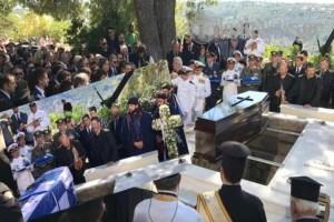 """Όπως του έπρεπε: Ράγισαν καρδιές στο τελευταίο """"αντίο"""" στον Κωνσταντίνο Μητσοτάκη! (Photos & Video)"""