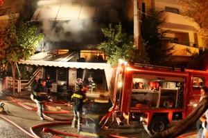 Έκτακτο: Πανικός στο κέντρο της Αθήνας! Ισχυρή φωτιά στο κτίριο της Εφορίας