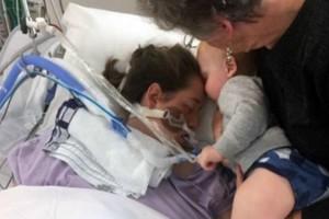Μωρό φιλά την μητέρα του για τελευταία φορά: Η ιστορία μιας οικογένειας που συγκλόνισε τον κόσμο!
