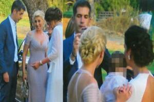 Λαμπερός γάμος για Σία Κοσιώνη και Κώστα Μπακογιάννη! Δείτε φωτογραφίες από το μυστήριο
