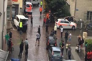 Συναγερμός στην Ελβετία - Οι πρώτες εικόνες από την επίθεση ενόπλου στην πόλη Σαφχάουσεν