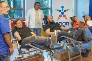 Κίνηση ανθρωπιάς από τον ΟΠΑΠ! Εργαζόμενοι και πράκτορες πρόσφεραν αίμα για τα παιδιατρικά νοσοκομεία