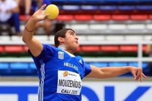 Χάλκινο μετάλλιο κέρδισε ο Μουζενίδης στη σφαίρα του Ευρωπαϊκού U20