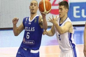 """Στους """"8"""" του Eurobasket η Εθνική Νέων - Δύσκολη νίκη επί του Μαυροβουνίου"""