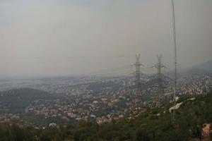 Συγκλονιστικό βίντεο: Ο καπνός από την φωτιά στην Ανατολική Αττική έφτασε έως το Λιβυκό Πέλαγος!