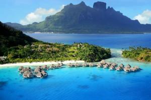 H φωτογραφία της ημέρας: Τα εξωτικά νησιά Bora Bora