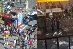 Χάος στη Βαρκελώνη: Διπλό τρομοκρατικό χτύπημα με ομηρία και πολλούς νεκρούς (photos - video)