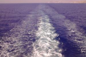 Η φωτογραφία της ημέρας: Το απέραντο γαλάζιο της θάλασσας