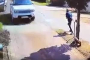 Σοκαριστικό βίντεο! Ζευγάρι γλυτώνει κυριολεκτικά την τελευταία στιγμή από...τρακάρισμα!