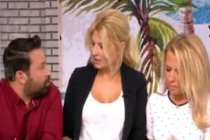 """Ξέφυγε on air η Φαίη Σκορδά! Η ερώτηση του Γεωργαντά για τον χωρισμό που την """"έβγαλε"""" από τα ρούχα της! (video)"""