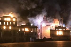 Θεσσαλονίκη: Η πόλη «καίγεται» ξανά μετά από 100 χρόνια (Photos)