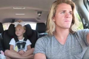 Πατέρας βγάζει βίντεο με την κόρη του μέσα στο αμάξι. Λίγες μέρες μετά έχουν εκατομμύρια views! Δείτε τον λόγο...