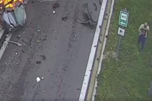 """Απάνθρωπο: Τι συνέβη δευτερόλεπτα μετά το μοιραίο τροχαίο και έρχεται για πρώτη φορά στο """"φως"""" μετά το νέο βίντεο της Τροχαίας! (video)"""