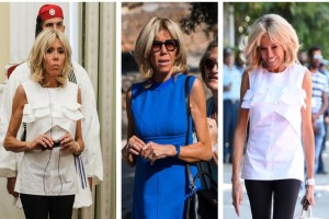 Μαγεμένη: Τι απάντησε η Μπριζίτ Μακρόν όταν την ρώτησαν τι της άρεσε από την Ελλάδα;