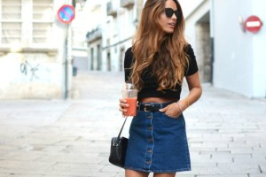 Button Skirt Trend: 13 τρόποι για να φορέσεις την απόλυτη τάση του φθινοπώρου