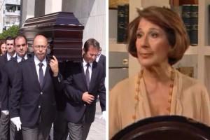 Σπάραξαν καρδιές στην κηδεία της Σοφίας Ολυμπίου: Ποιοι διάσημοι έδωσαν το παρόν;