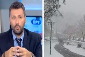 """Αυστηρή προειδοποίηση από τον Γιάννη Καλλιάνο: """"Έρχονται μέχρι και χιόνια από την Πέμπτη..."""""""