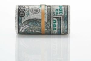 Θα κρατούσατε μια τσάντα που μοιάζει με δεσμίδα από δολάρια; (photos)