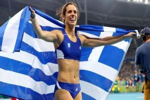 Ελληνική υπερηφάνεια: Κορυφαία Ευρωπαία αθλήτρια για το 2017 η Κατερίνα Στεφανίδη!