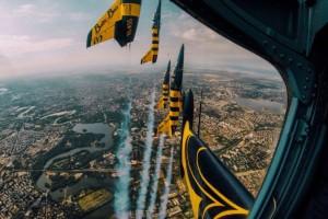 Η φωτογραφία της ημέρας: Εντυπωσιακή άσκηση μαχητικών αεροσκαφών!