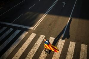 Η φωτογραφία της ημέρας: Την μάχη για την ανεξαρτησία της δίνει η Καταλονία!