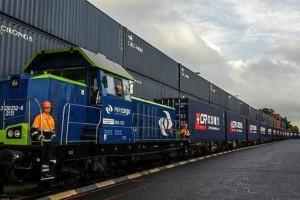 Ιστορική στιγμή: Ξεκινάει το τρένο που θα «ενώνει» την Κίνα με την Γερμανία!