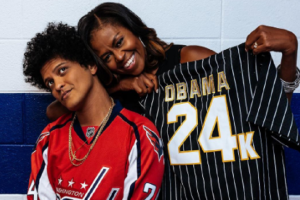 Όταν η Michelle Obama ξεφάντωσε στη συναυλία του Bruno Mars! (Photos)