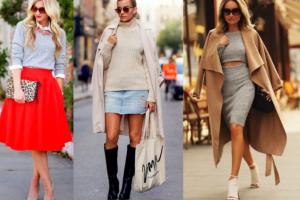5 τρόποι για να φορέσεις το πουλόβερ σου με την φούστα σου!