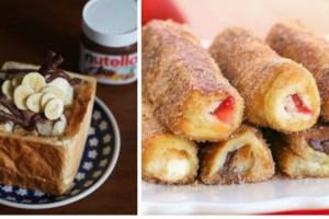2 απίθανες και εύκολες συνταγές για γλυκά με ψωμί του τοστ!!