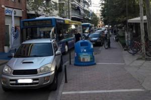 Λάρισα: «Ελληνάρας» παράτησε το αμάξι του στην μέση του δρόμου και... έφυγε!