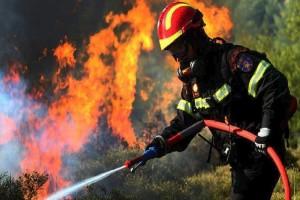 Συνεχίζει να καίει για δεύτερη ημέρα η φωτιά στην Ευβοία