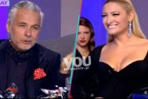 Μy style rocks: Η Ιωάννα Τούνη έδειξε το εμφύτευμα στο στήθος της και ο Χριστόπουλος έπαθε εγκεφαλικό