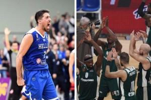 Η φωτογραφία της ημέρας: Μεγάλη βραδιά για το ελληνικό μπάσκετ!