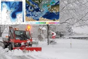 """Έρχεται """"πολικό"""" ψύχος: Σε ποιες περιοχές η θερμοκρασία θα δείξει κάτω από 0 βαθμούς;"""