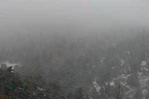 Χιονίζει στην Πάρνηθα! (photos)