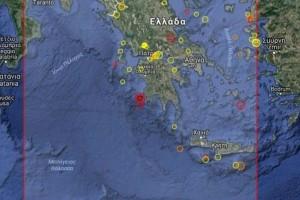 Ισχυρός σεισμός σε περιοχή της Μεσσηνίας!