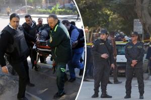 Μακελειό στην Αίγυπτο: Έπνιξαν στο αίμα τους πιστούς! Πάνω από 180 οι νεκροί, εκατοντάδες και οι τραυματίες! (photos+videos)