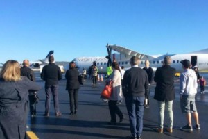 Συναγερμός για βόμβα σε αεροπλάνο. Τρομοκρατημένοι οι επιβαίνοντες!