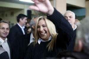 Εκλογές Κεντροαριστερά: Ξεκάθαρη νίκη για την Φώφη Γεννηματά!