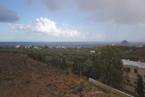 Εντυπωσιακός υδροστρόβιλος εμφανίστηκε στην Κρήτη!